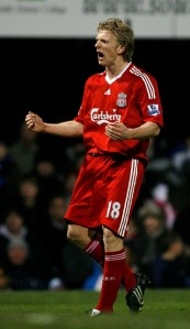 Dirk Kuyt came on a sub and tied the game at 2-2 in the 85th minute.